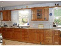 Pine kitchen for sale