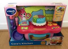 ***FOR SALE BRAND NEW VTECH BABY CORA'S KITCHEN PINK TOY***