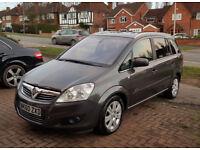 Vauxhall Zafira 1.9 CDTi Elite 5dr Turbo Diesel - Fully loaded, Genuine low mileage & 10 month MOT