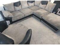 Corner sofa & large swivel chair