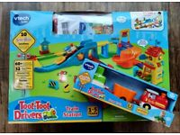 Vtech Baby Toot Toot Drivers Train Station PLUS Cargo Train and EXTRA track set