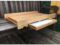 Mothercare space saver cot change table