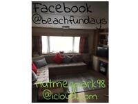 Static caravan to let on Golden Sands Haven Mablethorpe Lincolnshire