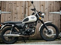 Lexmoto VALIANT 125 XF 125 R Cafe Racer Scrambler Custom, learner legal in excellent condition