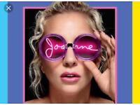 £120 Lady Gaga 2x standing arena birmingham 31/01/18