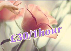 ✨🌈1 hour £30 ✨ full body massage