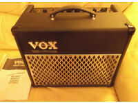 VOX AD15 VT amplifier with instruction booklet