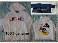 100 % Genuine Disney Paris hoodie