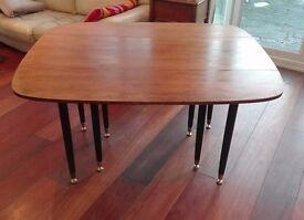 Vintage G Plan Gomme Dining Table, Drop Leaf Retro