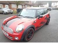 Mini Cooper Diesel Automatic 3dr 58 plate Chilli pack