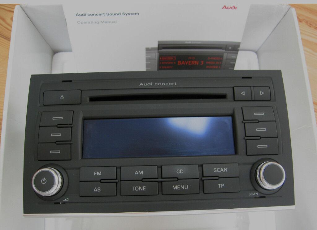 Audi Concert Stereo Wiring Diagram