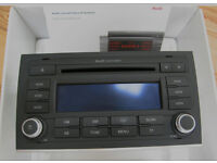 Audi A4 B7 Concert 2 stereo headunit CD player in excellent condition