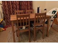Dining table + 4 chairs - ***** HOUSE CLEARANCE *****