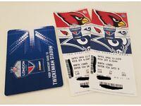 NFL Arizona Cardinals Vs Los Angeles Rams x 2