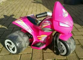3 Wheel Samurai Girl Scooter - Pink