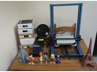 Creality CR-10 large print bed 3D printer