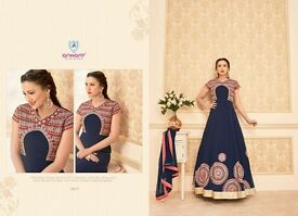 Wholesaler glorious design in heavy party wear suit