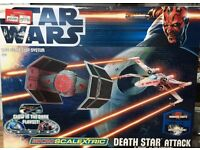 Brand New In Box Micro Scalextric G1084 Star Wars Death Star Attack 1:64 Scale Race Set