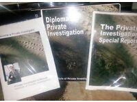 Private Detective Diploma. £230