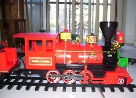 Disney Railroad Train Set Steam Engine Limited Edition Collectors