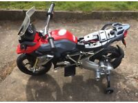 Kids BMW GS 6V Motorcycle – Fully Working- Good Con. NO OFFERS
