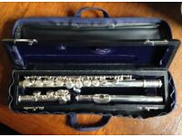 Flute - Trevor James 10x in original case - very good condition