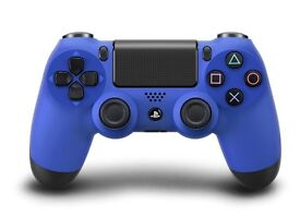 Like New Blue PS4 Wireless controller (with charger)