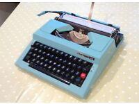 Portable Vintage Typewriter - Maritsa 30 - Excellent Condition