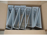 10 X A4 Ring Binders - 4 ring, 50mm