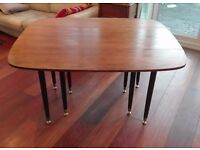 Vintage G Plan Gomme Dining Table, Drop Leaf Retro