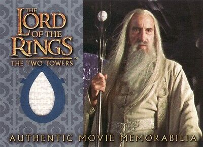 Lord of the Rings The Two Towers Saruman's Overtunic Costume Card LotR - Saruman Costume