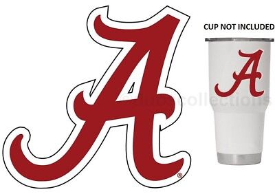 Alabama Crimson Tide Red A 3