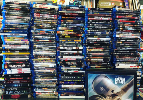 BLU-RAY Discount Used Lot Pick and Choose your bundle Movies LIMITED TIME SALE