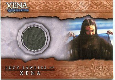 Xena Warrior Princess Lucy Lawless As Xena Worn Costume Material C6