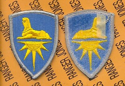 US Army Intelligence Command dress uniform patch m/e