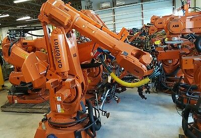 Abb Robot Irb 6400 2.4 M X 175 Kg. S4c M97 Controller Low Hours New 2005