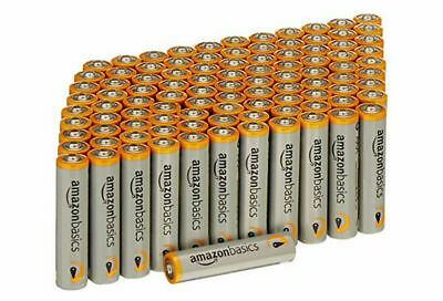 AmazonBasics AAA comparable to ACDelco AAA Super Alkaline Batteries 100 Count