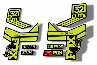 FOX 40 Elite Performance 2017-18 Fork Suspension Factory Decal Sticker Green