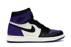 Air Jordan 1 Court Purple SIZE 10.5 and 11