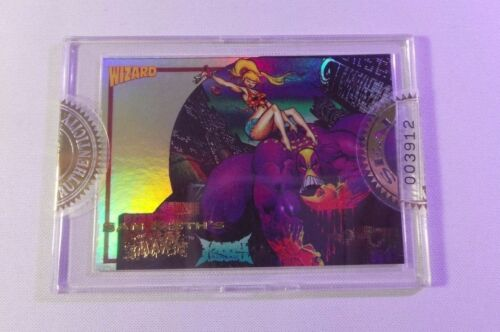 1992 Wizard Press Promo Card #2 Sam Kieth's MAXX FACTORY SEALED