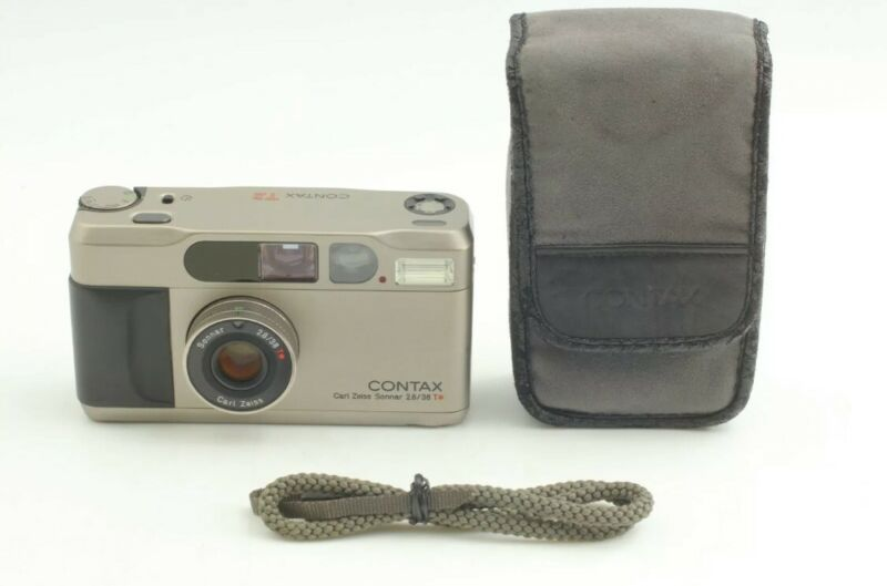 [MINT!] Contax T2 35mm Point and Shoot Film Camera JAPAN RESELL