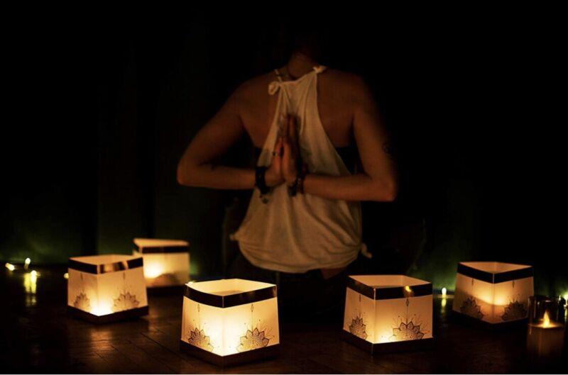 DIY Chinese Lanterns with Mandala - Wishing, Praying, Meditation, Parties, Yoga
