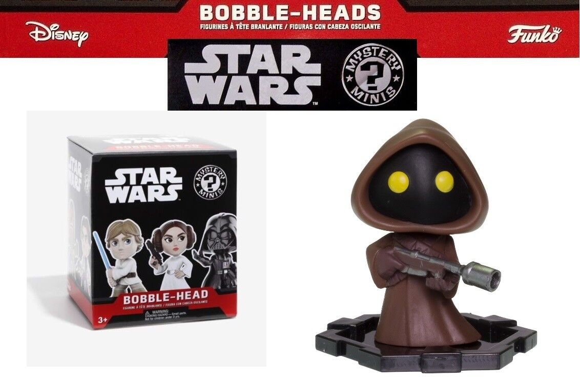 Funko Star Wars Mystery Minis Bobble Head New in Box One of Twelve Unopened Rare