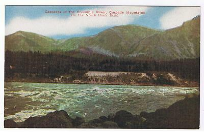 Cascade Mountains On N Bank Road Oregon Postcard