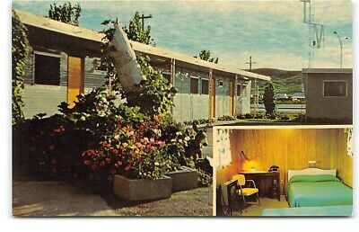 South Dakota-Fort Pierre-Frontier Motel-Red & Irene Maxwell-Vintage Postcard