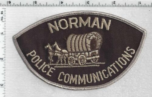 Norman Police Communications (Oklahoma) 1st Issue Shoulder Patch - RARE