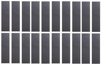 "Lot of 20 Cal 7 Blank Skateboard Deck Grip Tape 33/"" x 9/"" 20 PACK Set"