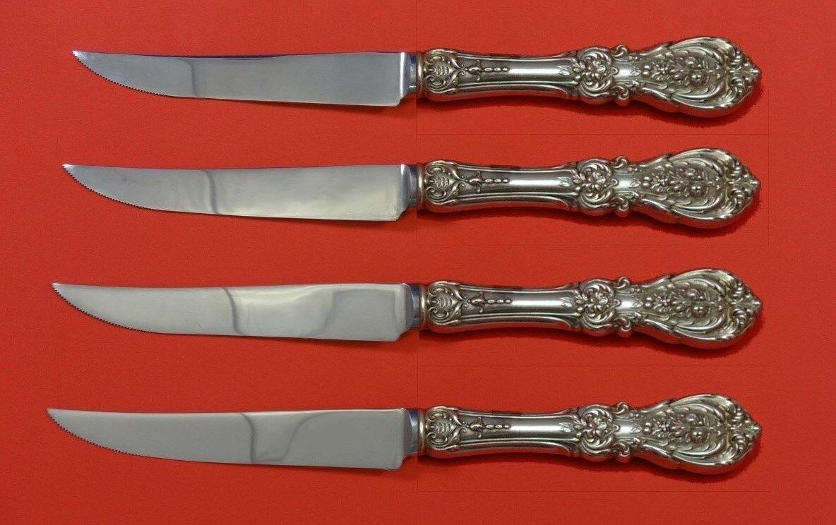 Francis I Sterling Silver by Reed /& Barton Steak Knives