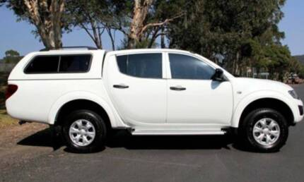 2014 Mitsubishi Triton GLX mn 4x4 double cab utility Ute Warriewood Pittwater Area Preview