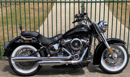 2018 Harley Davidson FLDE Deluxe, may trade Rd bike, $25900 Youngtown Launceston Area Preview